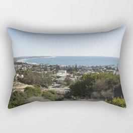 Coastal Town Rectangular Pillow