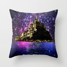 Enchanted castle Throw Pillow