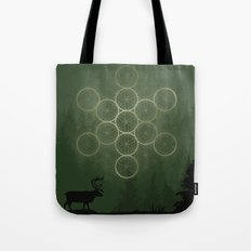 the forest. Tote Bag