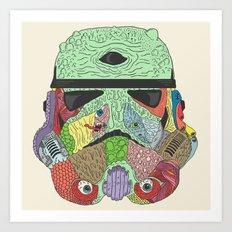 Gore Trooper  Art Print