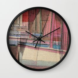 Stilt House 3 Wall Clock