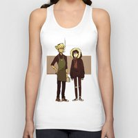durarara Tank Tops featuring Kids These Days by rhymewithrachel