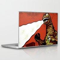 godzilla Laptop & iPad Skins featuring Godzilla by HAZZAH!
