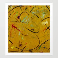 Abstraction  #! Art Print