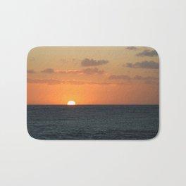 Sunset at Great Barrier Reef Bath Mat