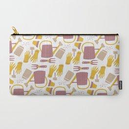 Garden Pattern Carry-All Pouch