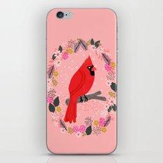 Northern Cardinal by Andrea Lauren  iPhone Skin