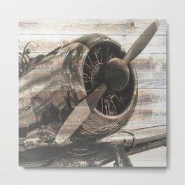 Old airplane 1 Metal Print