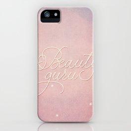 Beauty Guru iPhone Case