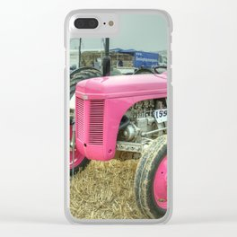 Lil Pink Fergie Clear iPhone Case