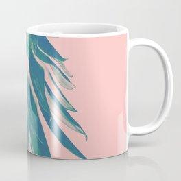 Blush Pineapple Upside Down #1 #tropical #fruit #decor #art #society6 Coffee Mug
