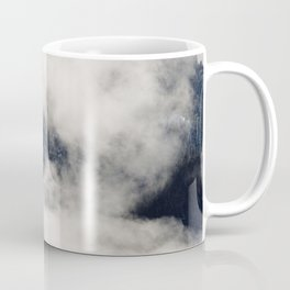 Earthscape Landscape Photography Misty Mountain Peak Pine Foggy Forest Coffee Mug
