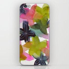 Kaleidoscope of Petals iPhone Skin