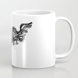 Abstract Drawing Coffee Mug