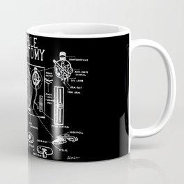 Turntable Anatomy Coffee Mug