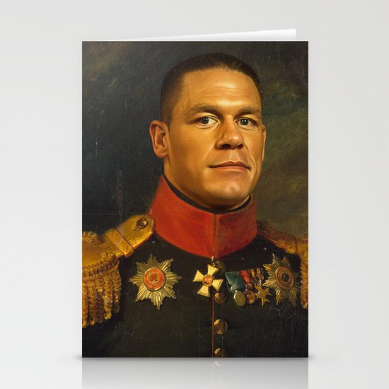 John Cena - replaceface Stationery Cards
