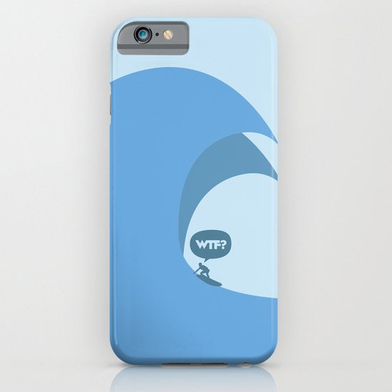 WTF? Surf! iPhone & iPod Case