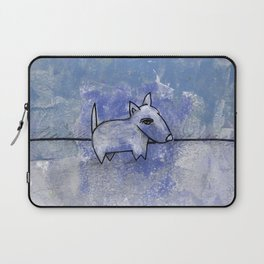 Dog No.1o by Kathy Morton Stanion Laptop Sleeve