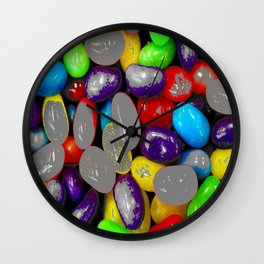 Spray grey Wall Clock