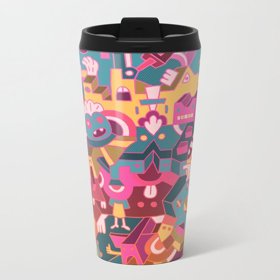 Dear Clarence Metal Travel Mug