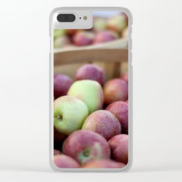 """A Lifetime Supply of """"Keep the Doctor Away"""" Clear iPhone Case"""