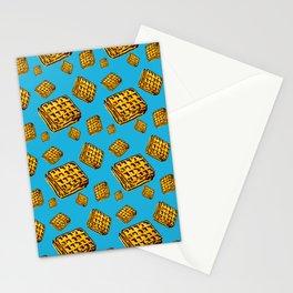 Waffle morning Stationery Cards
