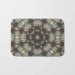 Batik Mandala Pattern Bath Mat