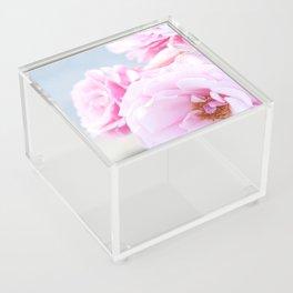 Blushing Roses Acrylic Box