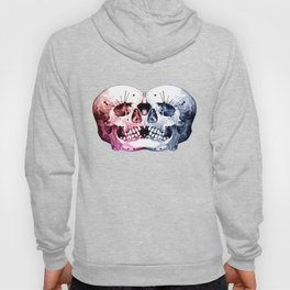 Conjoined Skull Hoody