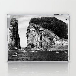 Cliff Diving event Laptop & iPad Skin