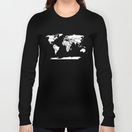 A Political Map of the World Long Sleeve T-shirt
