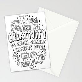 Creativity Intelligence Motivation teacher gift Stationery Cards