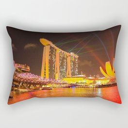 Night Shot Rectangular Pillow