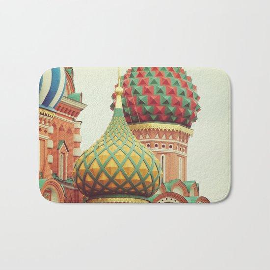 Russian Onion Domes Bath Mat