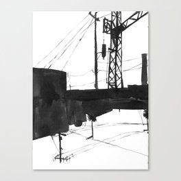 Railway IV Canvas Print