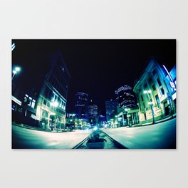 Downtown Winnipeg Canvas Print