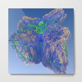 Mean Coral Metal Print