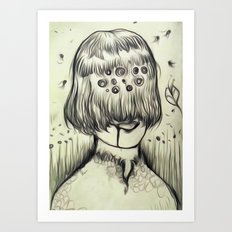 eyeB Art Print