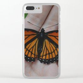 Viceroy Butterfly Clear iPhone Case