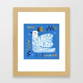 FANCY WING Framed Art Print