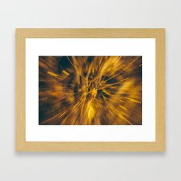 Stay out here Framed Art Print