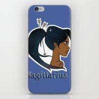 sagittarius iPhone & iPod Skins featuring Sagittarius  by Jo Sharp