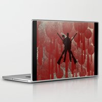 cowboy Laptop & iPad Skins featuring cowboy by Saleem007
