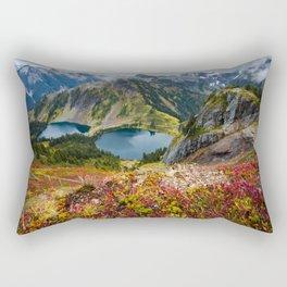 Fall in the North Cascades Rectangular Pillow