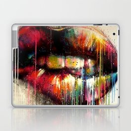 Lip Biter Laptop & iPad Skin