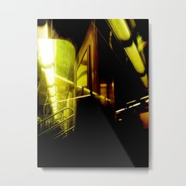 Wormhole Metal Print