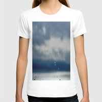 aperture T-shirts featuring The Sky Resting on Water by Jane Lacey Smith