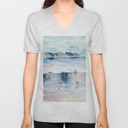 On The Beach Unisex V-Neck