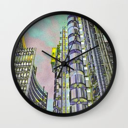Lloyd's of London Building  Wall Clock