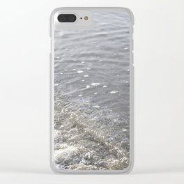 Wave Kits Beach Vancouver Clear iPhone Case